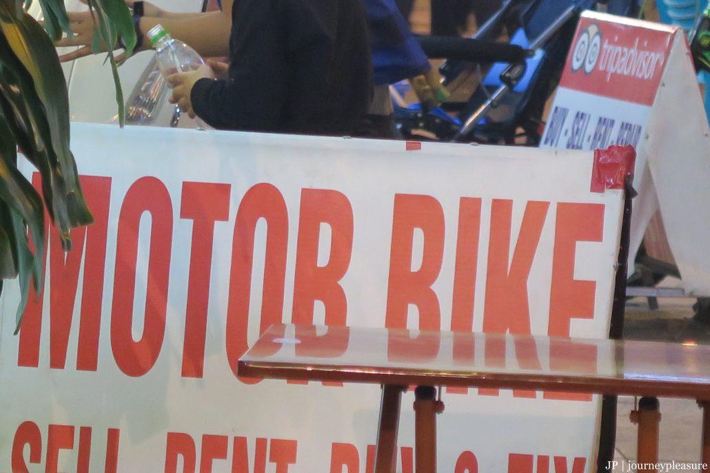 """Motorbike, Motorbike, Motorbike!?"""