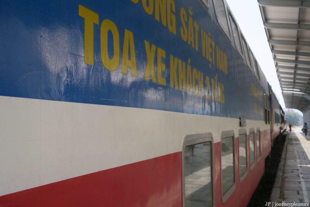Die größten Strecken sind wir mit der Railway durch Vietnam gefahren
