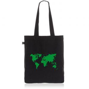 Geschenkideen für Reisende Jutebeutel Weltkarte Baumwolltasche