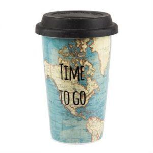Geschenkideen für Reisende Keramikbecher Kaffeebecher Teebecher Kaffeetasse