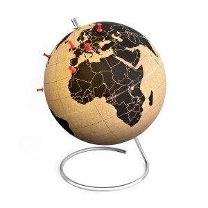 Geschenkideen für Reisende Kork Globus SUCK UK