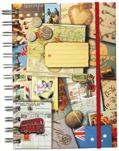Geschenkideen für Reisende Reisenotizbuch